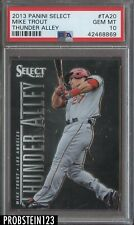 2013 Panini Select Thunder Alley Mike Trout Angels PSA 10 GEM MINT