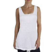 We The Free Womens White Sleeveless Rayon Tank Top Shirt Small (WT55)