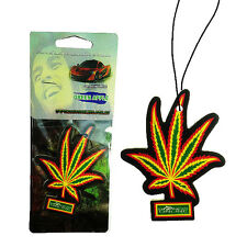 Green Apple Fragrance Scent Hanging Car Air Freshener Marijuana Leaf Vehicle