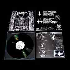 Luciation - Manifestation in Unholy Blackness (Den), LP (Blasphemy,Doom,Hate)