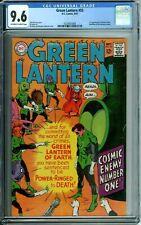GREEN LANTERN 55 CGC 9.6 KANE ART RARE in HI-GRADE NEW CGC CASE DC Silver Age 67