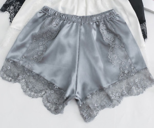 Women Anti-Static Slip Shorts Bloomers Panties Pettipants Sleepwear Lingerie