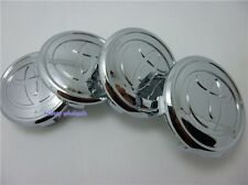 Set 4 Pcs Chrome Plated Wheel Center Rim Cap For Toyota 57mm Corolla Yaris Prius