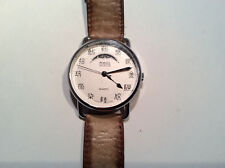 Fossil Collection Unisex Watch White Analog Dial Rare Colossal Hong Kong Phase