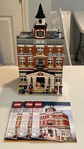 Town Hall 10224 Complete Original Lego Modular