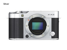 Fujifilm X-A3 Silver & Black Body Only CSC Mirrorless Fuji Compact System Camera