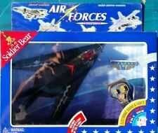 NEW SOLDIER BEAR AIR FORCES WIRED REMOTE CONTROL PLANE STEALTH FIGHTER