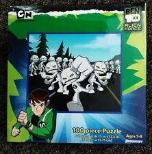 Pressman Ben 10 Alien Force Puzzle 100 Pcs