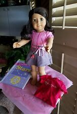 My American Girl Doll #41 orig box outfit book & Miami Store Opening shirt 2011