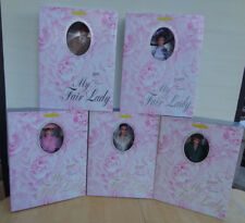 Set of 5 MY FAIR LADY BARBIES Pink, Flower, Ascot, Embassy, Ken 1996 New and MIB