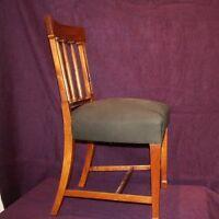 9 Biedermeier Empire Stühle Stuhlsatz Stuhl Tisch Mahagoni Furniture Chair Möbel