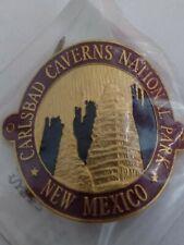 Carlsbad Caverns National Park Walking Hiking Stick Staff Medallion - New Mexico