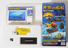SHIPS OF THE WORLD Series 02 #3 France Submersible Nautile 1/144 Model Takara