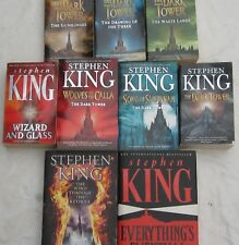 STEPHEN KING - THE DARK TOWER- COMPLETE 7 VOLUMES PLUS 2 MORE-9 VOLUMES