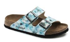 BIRKENSTOCK Papillio Arizona Pixel Blue sandal SOFT footbed US 6 EU 37