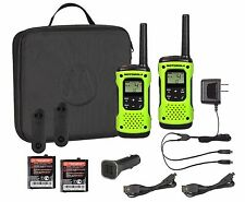 MOT-T605 Rechargeable Floating 2-Way Radio Twin Pack with Case and Car Charger