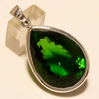 Natural Egyptian Peridot Pendant 925 Sterling Silver Christmas Fine Jewelry Gift