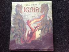 IGNIS GINA WILSON illustrated P.J. LYNCH Hardcover Dust Jacket 2001 FIRST US ED