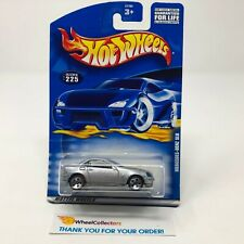 Mercedes-Benz SLK #225 * Silver * 2001 Hot Wheels * HC5