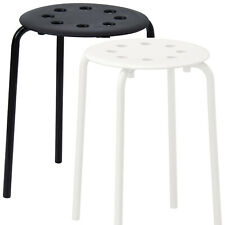 New IKEA MARIUS Stool Multi Purpose Kitchen Breakfast Bathroom Use Strong UK