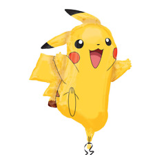 Pokemon Pikachu Anime Super Shape Jumbo Foil Balloon