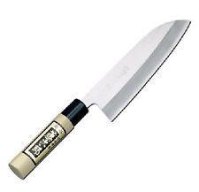 Japanese TOJIRO White Steel SHIROGAMI SANTOKU Knife 165mm MIGAKI F-701A
