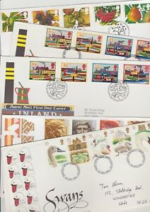 ** FIRST DAY COVERS 1993 MULTIPLE LISTINGS BUY 4 FOR FREE P&P **