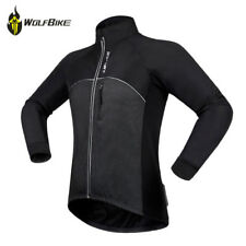 Fleece Thermal Winter Cycling Jacket Bicycle Coat Outdoor Bike Jersey Sports