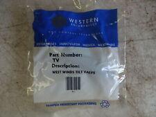 Western Enterprises West Winds Balloon Filling Tilt Valve New Model TV