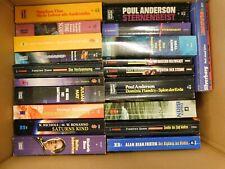 21 Taschenbücher Science Fiction Romane