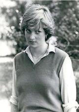 PRINCESS DIANA TWO BLACK WHITE 4x6 Inch Photos YOUNG GIRL C. 1981