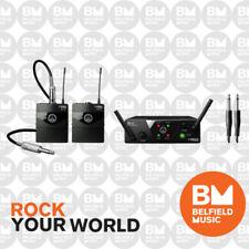 AKG WMS40 Mini Wireless Microphone System Dual Instrument Set Band A/C