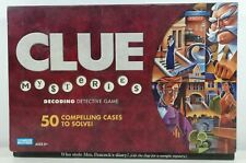 Clue Cluedo Mysteries Board Game Very Good Condition Complete 2005 Parker Games