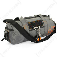 Grey Para Military Army USAF Airforce Pilot Nylon Holdall Bag Carrier