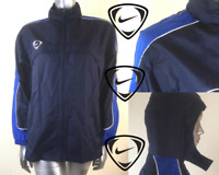 Nike Men's Vintage Windrunner Hooded NEW Navy Blue Football Size Large