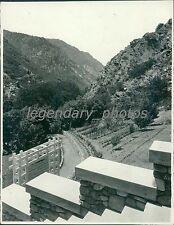 1939 Ogden Canyon Utah Original News Service Photo