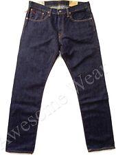 New Ralph Lauren Polo Hampton Straight Dark Blue Denim Wash Jeans size 36 x 32