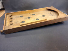 Ancien flipper en bois jouet enfant ou bistrot vintage jeu ancien