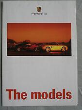 Porsche range brochure 1998
