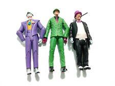 Dc Batman Villians Lot including Joker, Ridler and Penguin