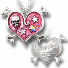 Alchemy Gothic Love Hearts Costume Necklaces & Pendants