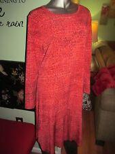 MICHAEL KORS Grenadine Sunari Print Matte Dress Plus SZ 1X MSRP $120.00