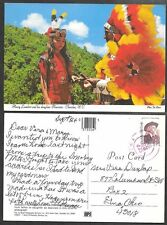 1988 North Carolina Postcard - Cherokee - Native American Indian - Lambert