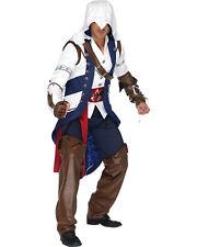 Morris Costumes Men's Assassins Creed Connor Adult Medium L. UAAS85172ML