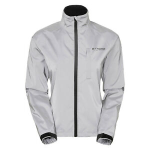 Ettore Ladies Cycling Jacket Waterproof Breathable Reflective Night Glow - 8 330