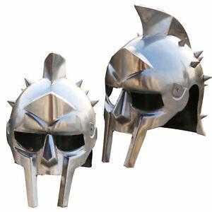 New Gladiator maximus Medieval Armor Helmets 300 movie Spartan Helmet for sale