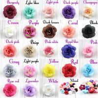 30 pcs Artificial Fake Small Rose Silk Flower Head DIY Wedding Party Home Decor