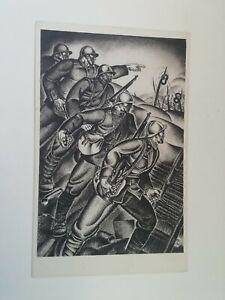 Cartolina Associazione nazionale Ferrovieri Numero 1 Apolloni