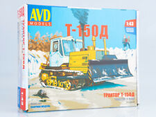Kit model 1:43 Tractor T-150D crawler with blade