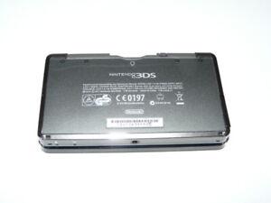 Nintendo 3DS  Handheld-Spielkonsole (PAL) in Schwarz